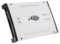 2008-9999 Ford Escape Legacy 3000 Watt 2 Channel Bridgeable MOSFET Amplifier