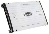 2008-9999 Ford Escape Legacy 4000 Watt 2 Channel Bridgeable MOSFET Amplifier