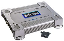 1991-1996 Ford Escort Legacy 3000 Watt Mono-Block Class-D Amplifier (Silver)