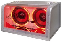 "1993-1997 Mazda Mx-6 Legacy Dual 12"" 1200 Watt Bandpass System w/Neon Woofer Lights"