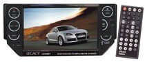 "2007-9999 Audi Q7 Legacy 5.5"" TFT Touch Screen Motorized Panel DVD/VCD/CD/MP3/CD-R/USB/SD Card/AM/FM w/ Razor Soft Touch Buttons"
