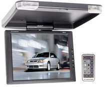 "1978-1990 Plymouth Horizon Legacy 13"" TFT LCD Roof Mount Monitor W/IR Transmitter & Swivel"