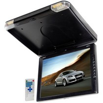 1997-2003 BMW 5_Series Legacy TFT Flip Down Roof Mount Monitor w/ Built-In DVD/MP3/MP4  Compatible Player w/ Wireless FM Modulator & IR Transmitter
