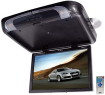 2002-2005 Honda Civic_SI Legacy TFT Flip Down Roof Mount W/ Built-In DVD/SD/USB Player/Wireless FM Modulator & IR Transmitter