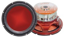 "1993-1997 Mazda Mx-6 Legacy 10"" 1000 Watt Legacy Red Series Subwoofer"
