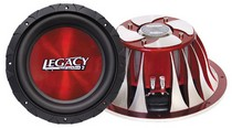 "1993-1997 Mazda Mx-6 Legacy 12"" 2000 Watt DVC Legacy Red Series Subwoofer"