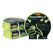 "1978-1990 Plymouth Horizon Legacy Manufacturing Flexzilla Zilla Green 3/8"" x 25' Air Hose With 1/4"" Threads"