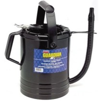 Universal (All Vehicles) Lincoln Lubrication 4 Quart Flexible Spout Measuring Can
