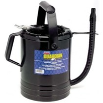 Universal (All Vehicles) Lincoln Lubrication 5 Quart Flexible Spout Measuring Can