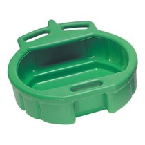 1987-1990 Honda_Powersports CBR_600_F Lisle Plastic 4-1/2 Gallon Green Spill Proof Drain Pan