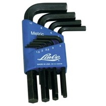 1996-1999 Audi A4 Lisle 9 Piece Metric Hex Key Set