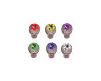 1966-1970 Ford Falcon LiteGlow Shift Knobs - L.E.D. Aluminum Gear (Purple)