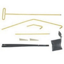 1980-1983 Honda Civic Lock Technology Super Multi-Piece Easy Access and inflate-A-Wedge Kit