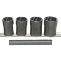 "2002-2005 Mercury Mountaineer Lock Technology 5 Piece 1/2"" Drive Locking Lugnut Twist Socket Removal Kit"