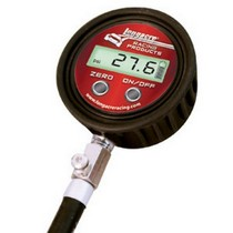 Universal Longacre Digital Tire Gauge 0-60 PSI with Angle Chuck with Case