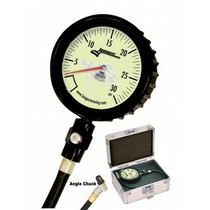 1997-2004 Chevrolet Corvette Longacre Magnum™ Tire Gauge 0-30 by 1/2 lb with Angle Chuck