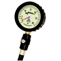 1987-1995 Land_Rover Range_Rover Longacre Magnum™ Tire Gauge 0-30 by 1/2 lb with Ball Chuck