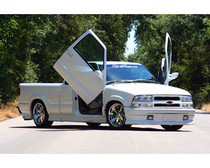 Chevrolet S10 Vertical Doors at Andy's Auto Sport