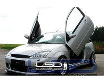 Ford Focus Vertical Doors At Andy S Auto Sport
