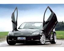 03-08 Mazda RX8 (SE/Coupe) LSD Doors Vertical Doors - Bolt & Mazda RX8 Vertical Doors at Andy\u0027s Auto Sport