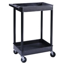 "2001-2003 Honda Civic Luxor 2-Shelf Utility Cart With 4"" Casters (2 Locking)"