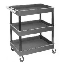 1993-1997 Mazda Mx-6 Luxor 3 Shelf Plastic Service Cart