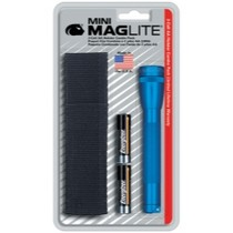 1998-2000 Mercury Mystique Mag instrument Mini-MagLite® Blue Flashlight Kit With Holster and 2 AA Batteries