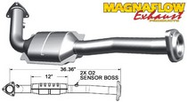 2003 Hummer H2 Magnaflow  Direct Fit Catalytic Converter with Gasket (California Legal)