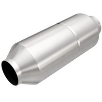 All Vehicles (Universal) Magnaflow Round Spun Universal Catalytic Converter - 2.5