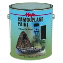 1968-1984 Saab 99 Majic Camouflage Paint, Gallon Earth Brown