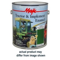 1966-1976 Jensen Interceptor Majic Tractor and Implement Enamel, Gallon Matte Black
