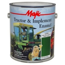 1961-1977 Alpine A110 Majic Tractor and Implement Enamel, Gallon John Deere Green