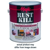 2003-2009 Toyota 4Runner Majic Rust Kill Multi Purpose Enamel, Gallon Matte Black