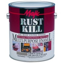 1966-1976 Jensen Interceptor Majic Rust Kill Oil Base Enamel, Aluminum