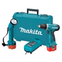 "2000-2002 Hyundai Tiburon MaKita 9.6V Cordless 3/8"" Driver-Drill and Flashlight Kit"