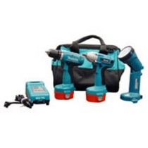 "1993-1997 Eagle Vision MaKita 14.4 Volt 1/2"" Impact Wrench Combo Kit"