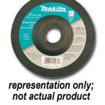 "1997-2001 Cadillac Catera MaKita 4-1/2"" 24 Grit Grinding Wheel - 5 Pack"