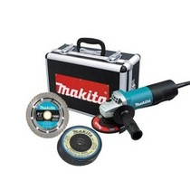 "2011-9999 Toyota Corolla MaKita 4-1/2"" Angle Grinder With Diamond Blade and 4 Grinding Wheels"