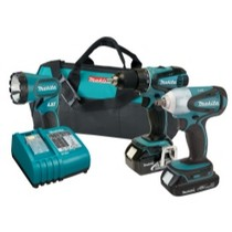 1998-2000 Geo Prizm MaKita 18V Lithium Ion Auto Combo Kit