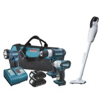 1998-2000 Geo Prizm MaKita 18V Lithium Ion Combo Kit With FREE vacuum