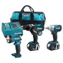 1998-2000 Geo Prizm MaKita 18 Volt Lithium Ion Auto Combo Kit