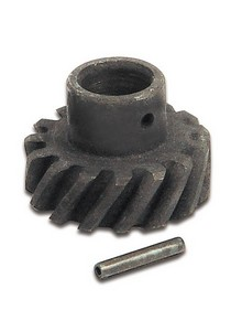 1973-1979 Ford F350 Mallory Distributor Alloy Steel Drive Gear - Left Hand Rotation