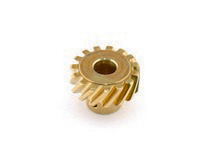 1973-1979 Ford F350 Mallory Distributor Aluminum and Bronze Drive Gear - Left Hand Rotation (Drilled)