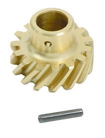 1973-1979 Ford F350 Mallory Distributor Aluminum and Bronze Drive Gear - Left Hand Rotation