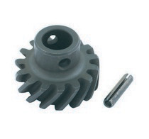 1973-1979 Ford F350 Mallory Distributor Alloy Steel Drive Gear - Right Hand Rotation (Drilled)