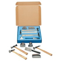 1960-1961 Dodge Dart Martin Tools 7 Piece Body and Fender Repair Set With Fiberglass Handles