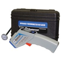 "2007-9999 Honda Fit Mastercool infrared Thermometer in Case With FREE MSC52220 1"" Analog Thermometer"