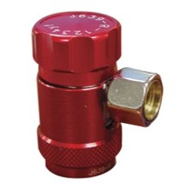 2000-2002 Hyundai Tiburon Mastercool R1234yf High Side Coupler (Red)