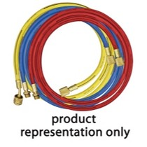 "1967-1970 Pontiac Executive Mastercool 72"" Red Hose for R134a"