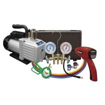 2002-2005 Honda Civic_SI Mastercool A/C Kit With Pump, Leak Detector and Gauge Set
